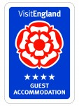 Visit England Guest Accommodation 4 Stars