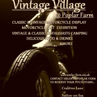 Vintage Village - Lincolnshire Bike Week 2018