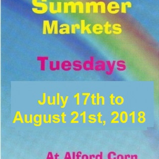 Alford Summer Tuesday Craft Markets