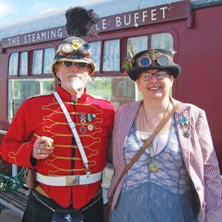 Lincolnshire Wolds Railway Steam Punk Extravaganza