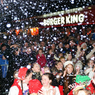 The Skegness Switch On and Illuminated Street Parade