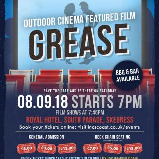 Outdoor Cinema Screening of GREASE!