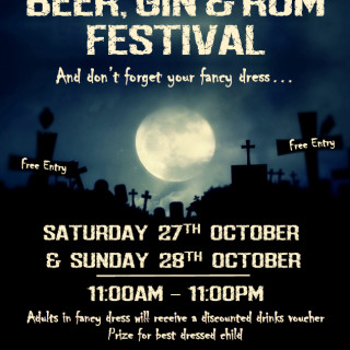 Beer, Gin and Rum Festival