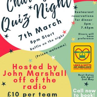 Charity Quiz Night - March