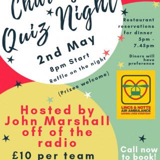 Charity Quiz Night - May