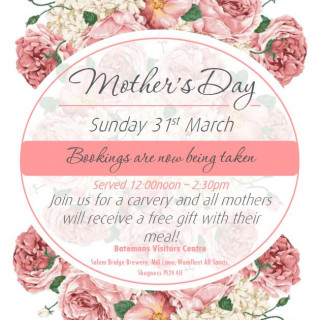Batemans Brewery Mother's Day carvery