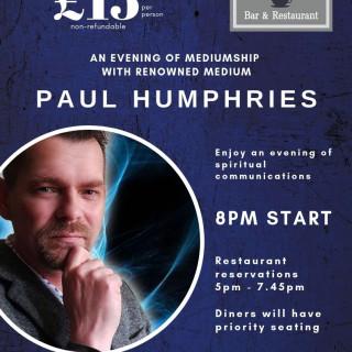 Medium Evening with Paul Humphries