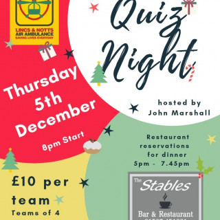 Christmas Charity Quiz Night
