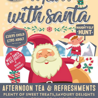 Seascape Tea With Santa