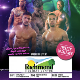 UK Pleasure Boys - Ladies Night at the Richmond