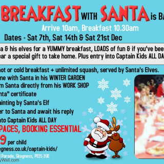 Breakfast with Santa - Captain Kids