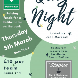Quiz Night with John Marshall