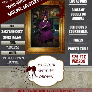 Murder Mystery Dinner at The Crown Hotel