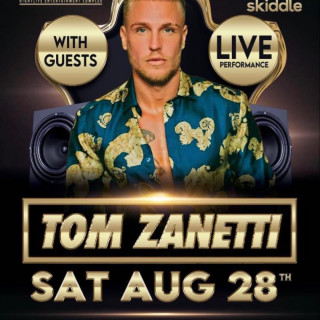The Hive Launch Party Featuring Tom Zanetti! SATURDAY 28TH AUGUST 2021